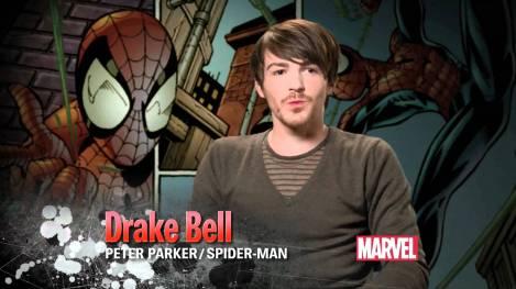 Drake Bell, a voz por trás do Spidey