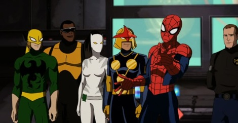 A equipe juntamente com o Agente Coulson